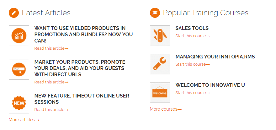 screenshot of partner dashboard